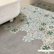 diy tile art floor wall decal sticker