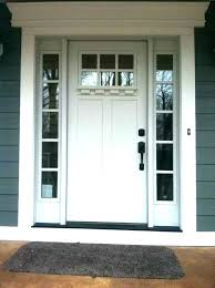 craftsman entry door with sidelights front moulding kit collection fiberglass doors one