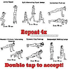 at home workout plan healthy fit body shredded ripped