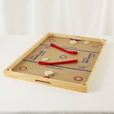 Wooden Puck Game Simple Knock Hockey Our Boards In The Late 32's Were Homemade With Wooden