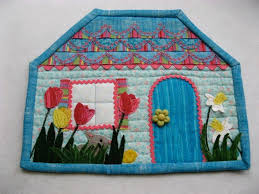 Get On Trend With Quilted Mug Rugs & April House Mug Rug Adamdwight.com