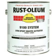 Rust Oleum High Performance 9100 System Dtm Epoxy Mastic