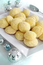 These lemon christmas cookies look so festive and they are very easy to make. Lemon Sparkler Cookies Sprinkle Bakes