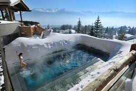 really cool swimming pools. LeCrans Hotel And Spa Pool In Crans Montana, Switzerland Really Cool Swimming Pools