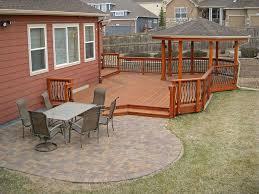 deck patio combinations decktec