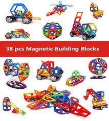 building skills promotion shop for promotional building skills on 38 pcs magic building block magnetic toys preschool skills educational game construction stacking sets magnetic blocks bricks