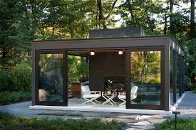 Small Picture magnificent Glass House Patio Modern design ideas with brick