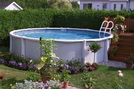 Image Pool Deck How To Plan For Installing Above Ground Swimming Pool Httpwwwbobvila Utechsabinfo Aboveground Swimming Pools Planning Guide Above Ground Pool