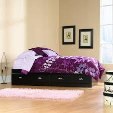 Sauder Bedroom Furniture Amazoncom Sauder Shoal Creek Mates Bed Jamocha Wood Kitchen