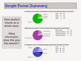 Assessment Example Formative Assessment and Google Forms