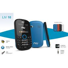 Teléfono NIU LIV 10 3 SIM 2G, 85/9/19 ...