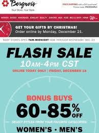 Bergners Online FLASH SALE 6085 Off Your Favorite Categories Online Gifts By Christmas