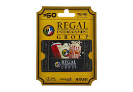Save 10 On A 50 Regal Cinema Card But Hurry Brobible