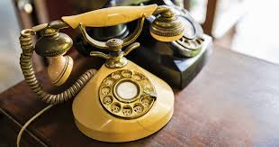 vintage rotary telephone designs