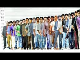Kannada Actors Height Chart Tollywood Actors Height Comparison Shortest Vs Tallest Video With Music