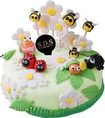 3d Fondant Cake Bees Sds Bakery Cafe