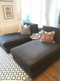 2 ikea kivik chaise longue sofas