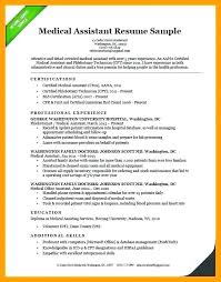 Medical Assistant Summary For Resume Office Cover Letter Simple Medical Assistant Summary For Resume