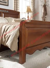 Solid Bedroom Furniture Country Style Solid Wood Bed In Wooden Bedroom Furniture Sets