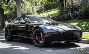 aston martin vanquish blacked out. aston martin rapide s with cec forged wheels and black out vanquish blacked