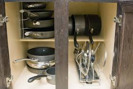 Kitchen Storage For Pots And Pans Pot And Pan Storage Rack Rseaptorg