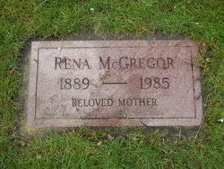 Rena Williams McGregor (1889-1985) - Find A Grave Memorial