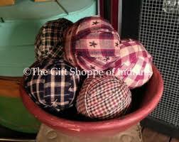 Decorative Bowl Filler Balls Primitive rag balls Etsy 97
