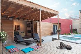 patio cover lighting ideas. Covered Patio Lighting Ideas Contemporary With Wood Deck Red Siding Cover