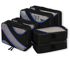 Bagail 6 Set <b>Packing Cubes</b>,3 Various Sizes <b>Travel Luggage</b> ...