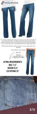 Fidelity Jeans Size Chart Fidelity Denim Vienne High Rise Wide Leg Denim Very Soft