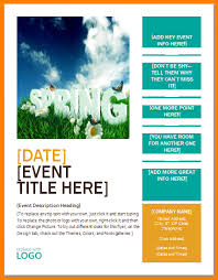 Blank Event Flyer Templates Free Printable Event Flyer Templates 4 Free Printable Event Flyer