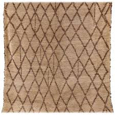 vintage beni ourain rug for