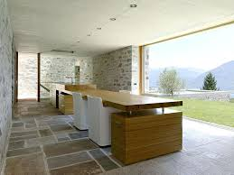 modern outdoor kitchen ideas with stone wall decor and white chairs pizza oven modern outdoor kitchen and fireplace design designs