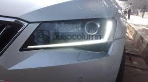 new car launches team bhpScoop Thirdgen Skoda Superb spotted testing in India EDIT