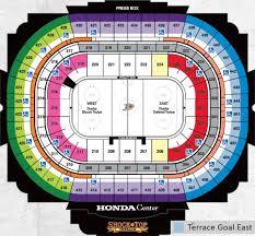 Anaheim Ducks Seating Guide Anaheim Pond Seating Chart