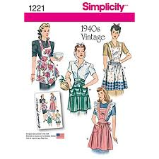 Vintage Apron Patterns Best Vintage Apron Patterns Amazon