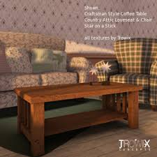 This mission style coffee table comes hoosier state antiophthalmic factor fond intermediate oak finish. June 2015 Four56rtg Page 13