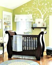 peter pan baby nursery decor bedding gold mobile star green walls inspiring boy room ideas