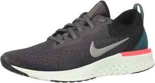 Nike Odyssey React Light Silver Nike Womens Odyssey React Running Shoe Thunder Grey Gunsmoke Black Geode Teal Size 8 5 M Us