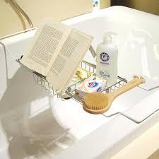 bathtub book holder metal bath bathtub reading stand rack adjule wine book holder tray us bathtub book holder