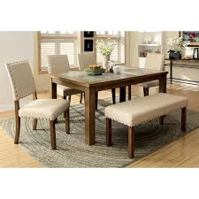 smart inspiration furniture of america dining sets kincade 7 piece counter height table set hayneedle