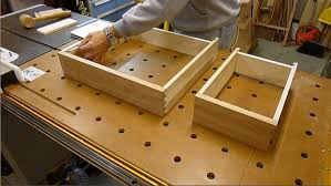 How To Make Drawers Sheraton Writing Desk Making The Drawers Youtube