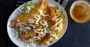 potato queso fresco tacos dorados