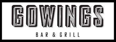 gowings dinner menu
