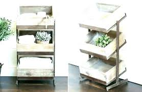 wooden tiered tray crate shelves 1 luxury bathroom 3 tier wood stand 2 white rectangle display