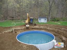 putting aboveground pool in the ground above ground pool installation u0026 supplies quality and affordable affordable above swimming pools o42