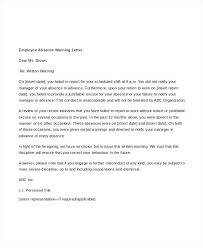 Example Of Absence Letter For Work Apology To Boss At 7 Leave ...