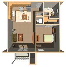 One Bedroom Apartment Layout 1 Bedroom Apartmenthouse Plans To Apartments Home And Interior