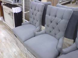 full size of chair grey tufted dining popular fresh room chairs photos com intended for gray