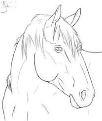 Small Picture paint horse head Horse head sketch by puddlecat1 on deviantART